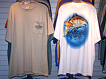 redfish tshirts